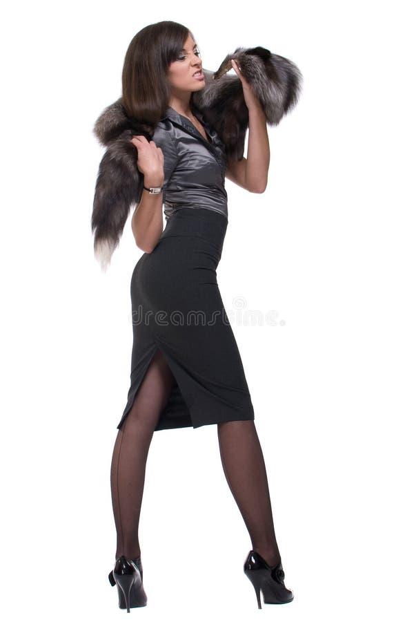 Download Retrato Da Mulher De Negócio Emocional Com Pele Foto de Stock - Imagem de ocasional, pele: 12805096