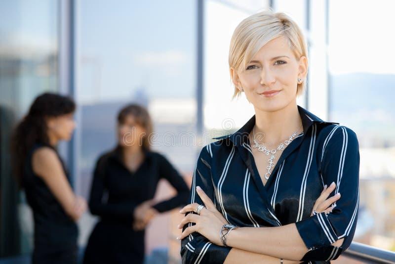 Retrato da mulher de negócios imagens de stock