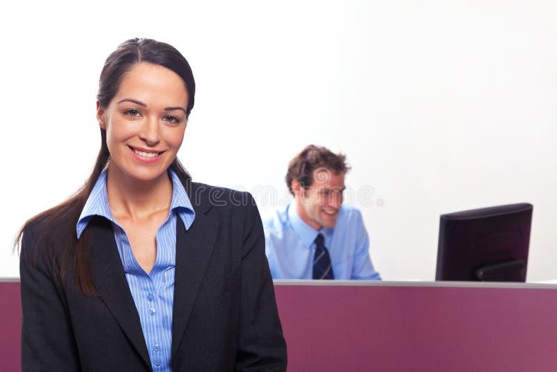 Retrato da mulher de negócios fotos de stock royalty free