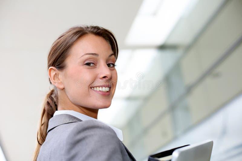 Retrato da mulher de negócios imagem de stock royalty free