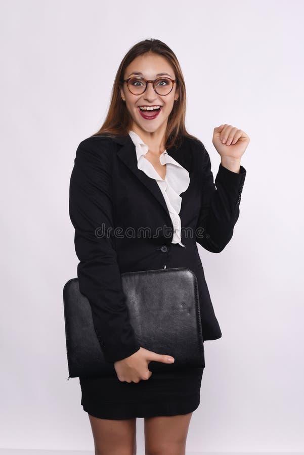Retrato da mulher de negócios fotografia de stock royalty free