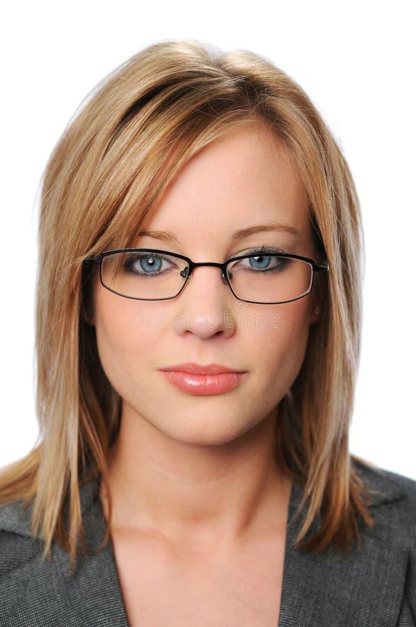Retrato da mulher de negócios nova fotos de stock