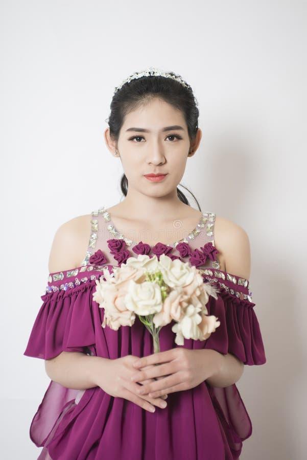 Retrato da mulher do encanto imagem de stock royalty free