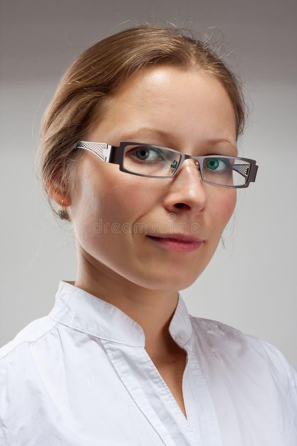 Retrato da mulher do usiness imagens de stock royalty free