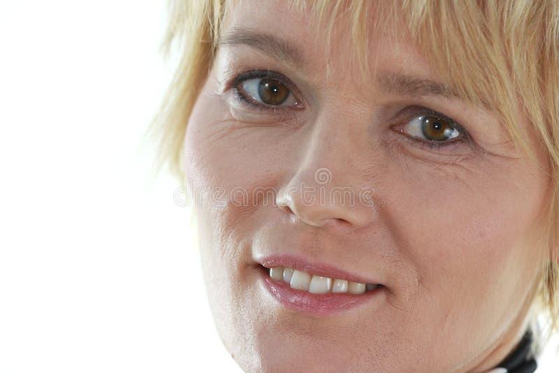 Retrato da mulher mais idosa fotos de stock royalty free