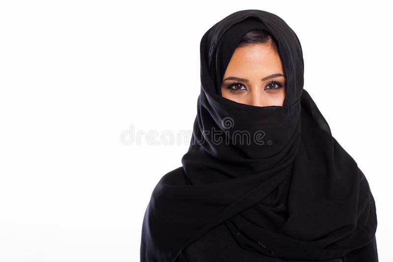 Download Mulher muçulmana foto de stock. Imagem de étnico, cheerful - 29836458