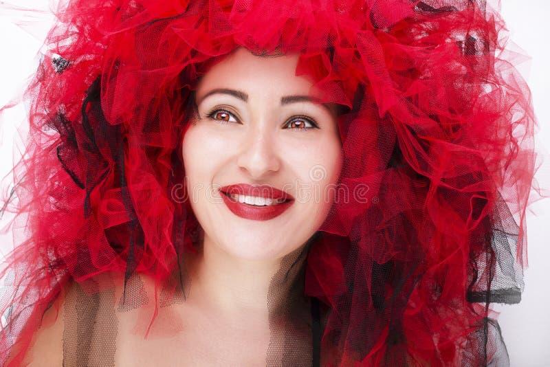 Retrato da mulher nova bonita Foto da forma imagem de stock royalty free