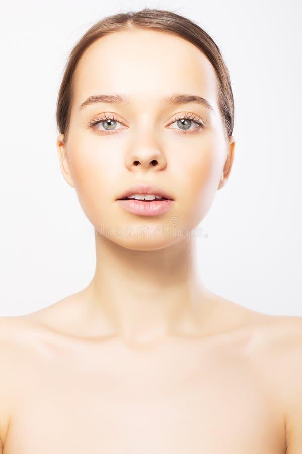 Retrato da mulher nova caucasiano 'sexy' imagem de stock