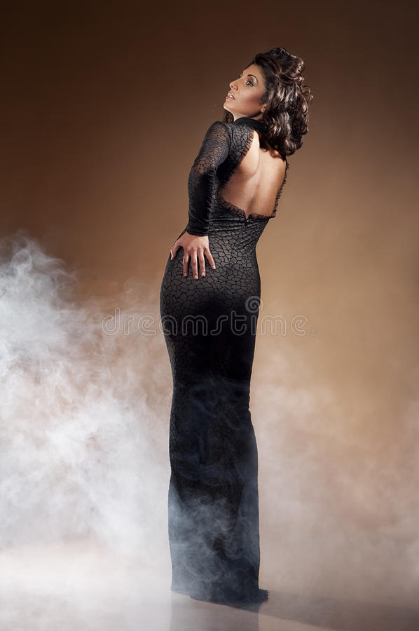 Retrato da mulher sedutor nova imagem de stock