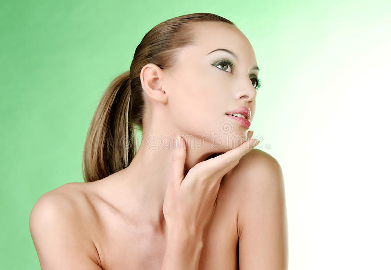 Retrato da mulher 'sexy' fotos de stock royalty free