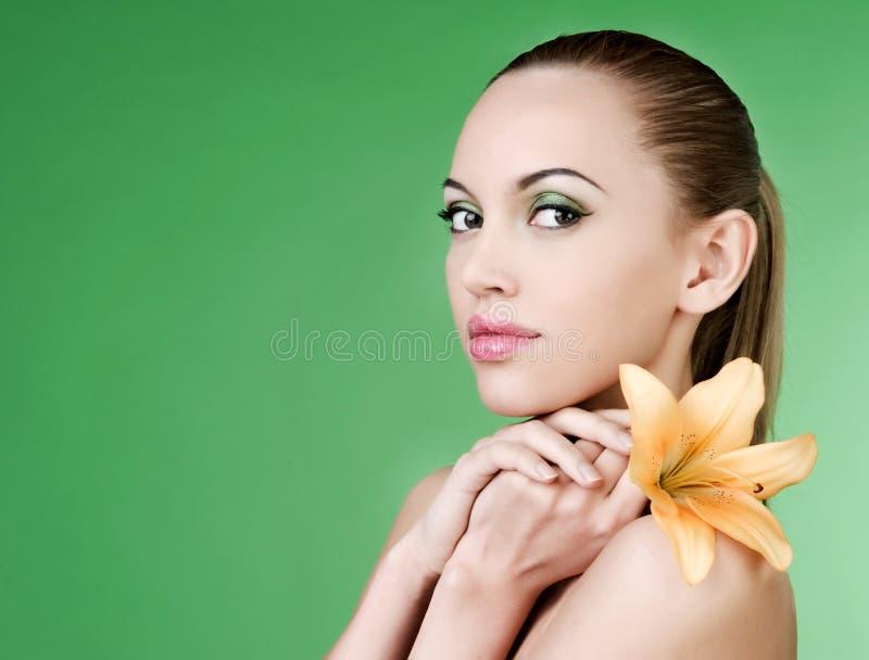 Retrato da mulher 'sexy' fotos de stock