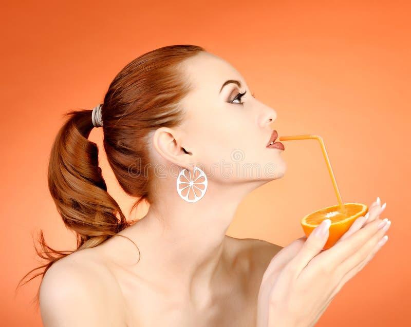 Retrato da mulher 'sexy' fotografia de stock