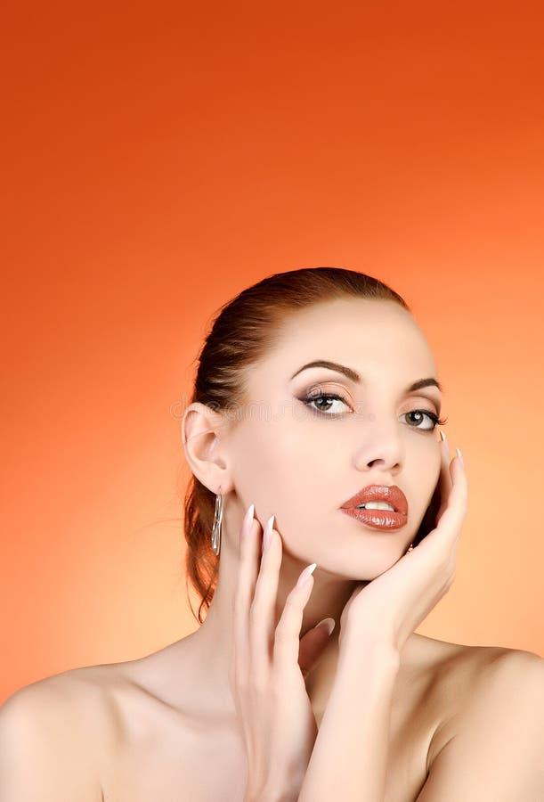 Retrato da mulher 'sexy' imagem de stock royalty free