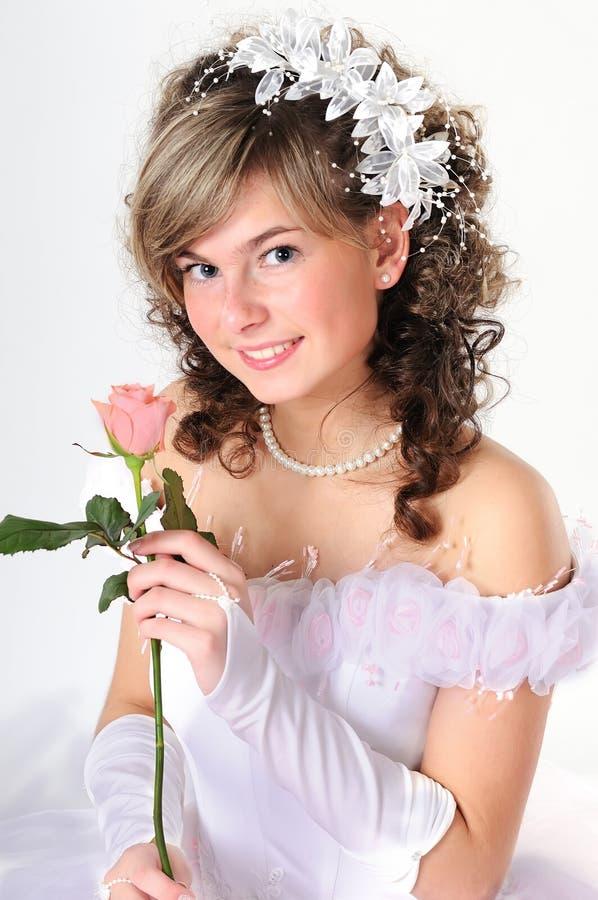 Retrato da noiva imagem de stock royalty free