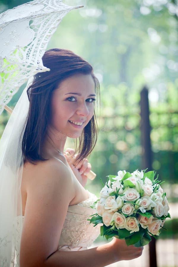 Retrato da noiva imagens de stock