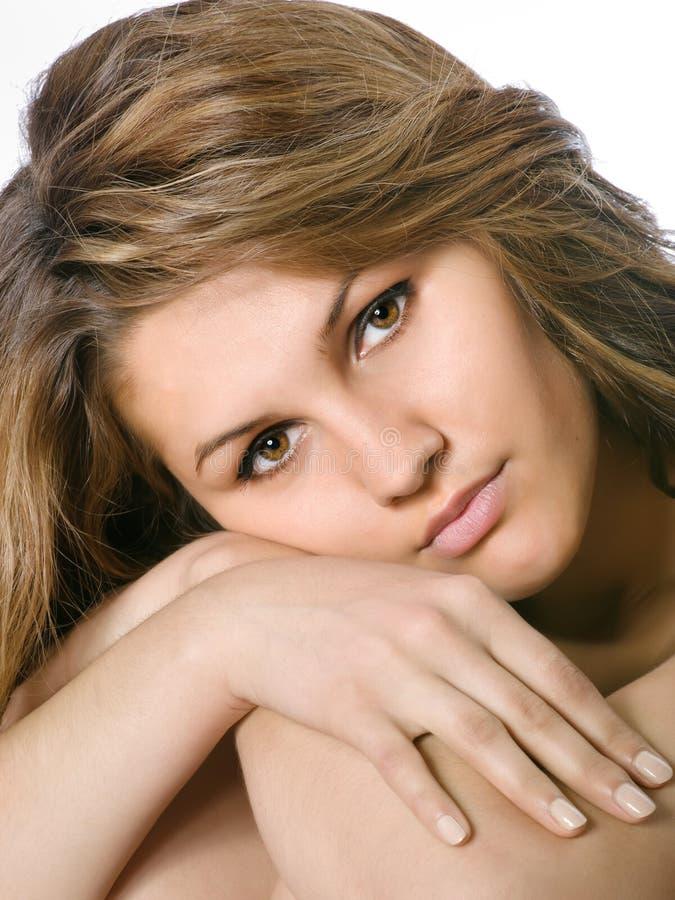Retrato da rapariga imagem de stock royalty free