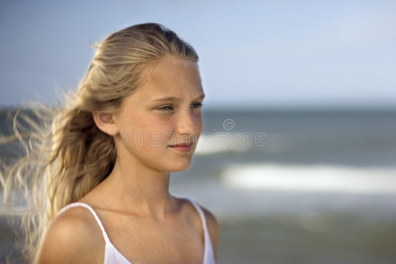 Retrato da rapariga imagens de stock