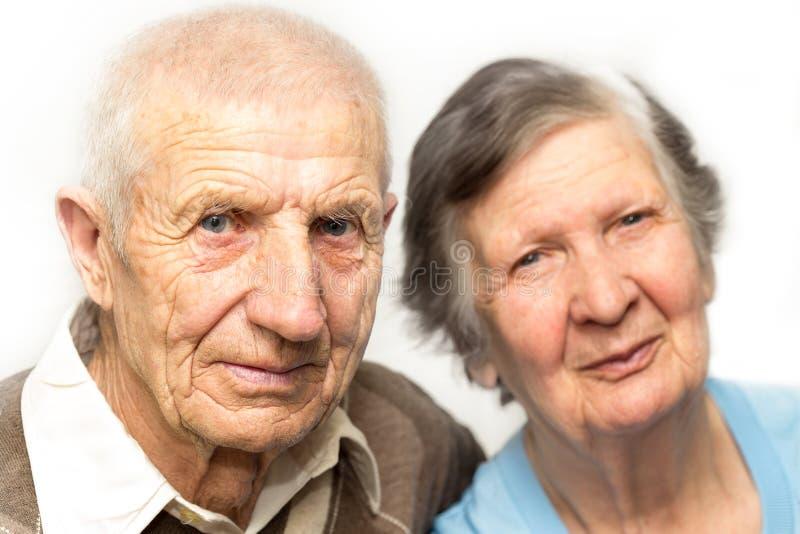 Retrato das avós imagem de stock