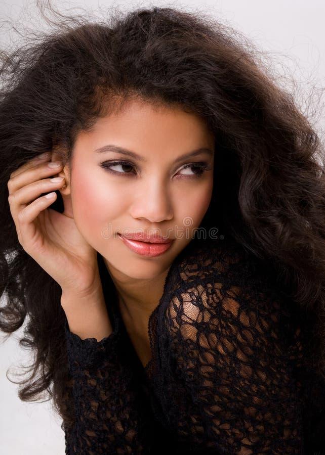 Retrato das mulheres imagens de stock royalty free