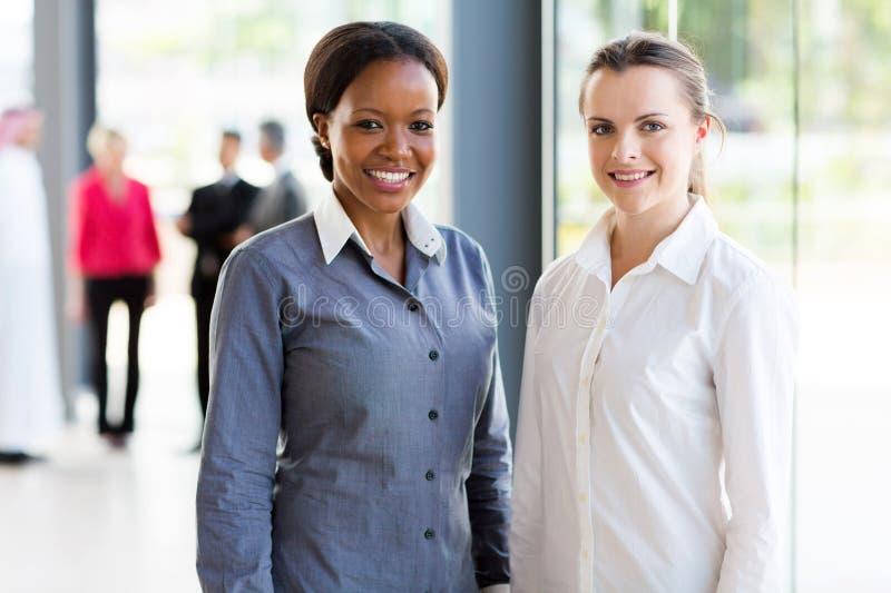 Retrato das mulheres de negócio fotografia de stock