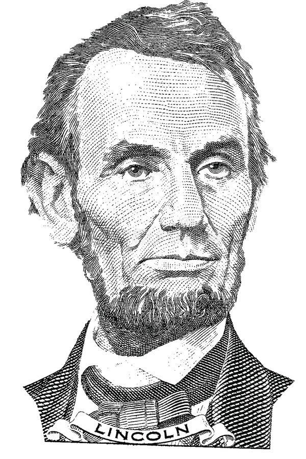 Retrato de Abraham Lincoln (vector) libre illustration