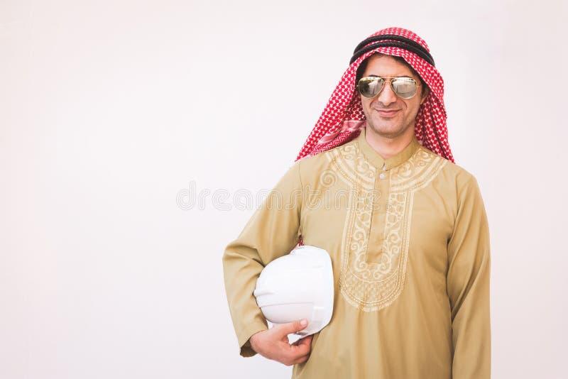 Retrato de arquitetos árabes fotografia de stock