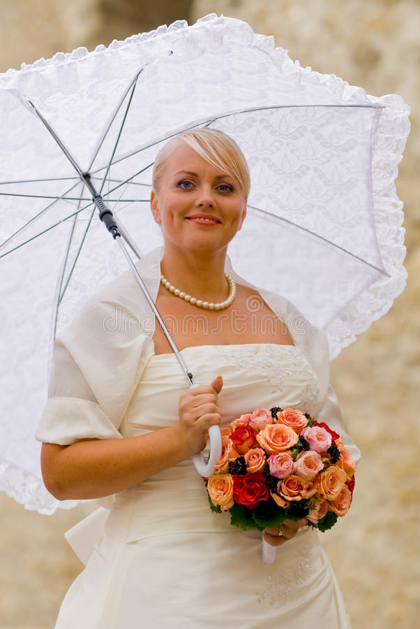 Retrato de boda fotos de archivo