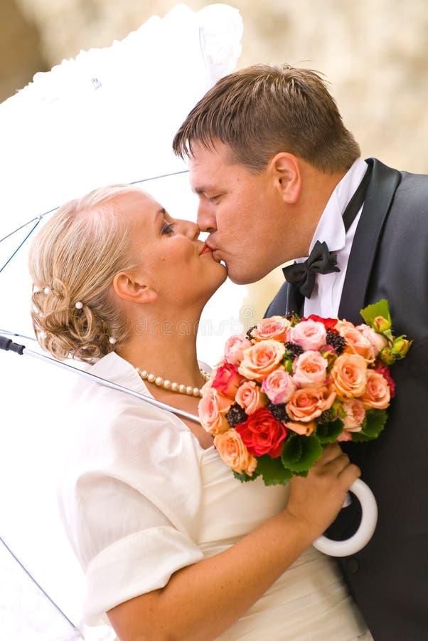 Retrato de boda imagen de archivo