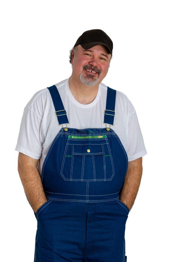 Retrato de brins vestindo do homem alegre foto de stock royalty free