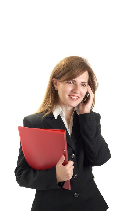 Retrato de businessewoman imagem de stock