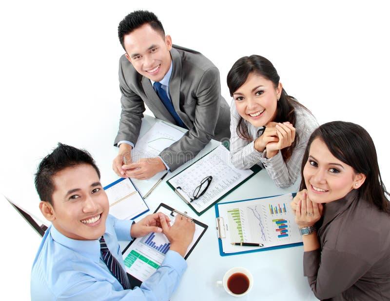 Retrato de executivos do grupo fotos de stock