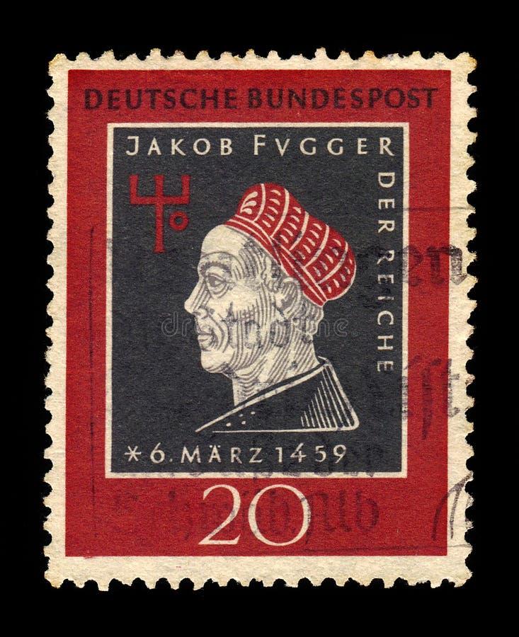 Retrato de Jakob Fugger el rico, banquero imágenes de archivo libres de regalías