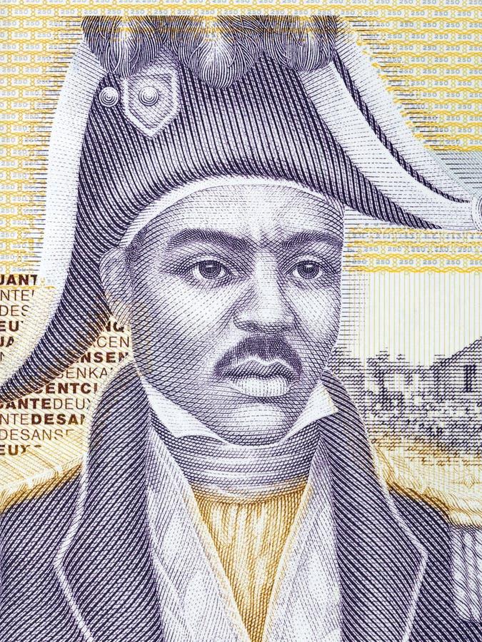 Retrato de Jean-Jacques Dessalines imagen de archivo libre de regalías