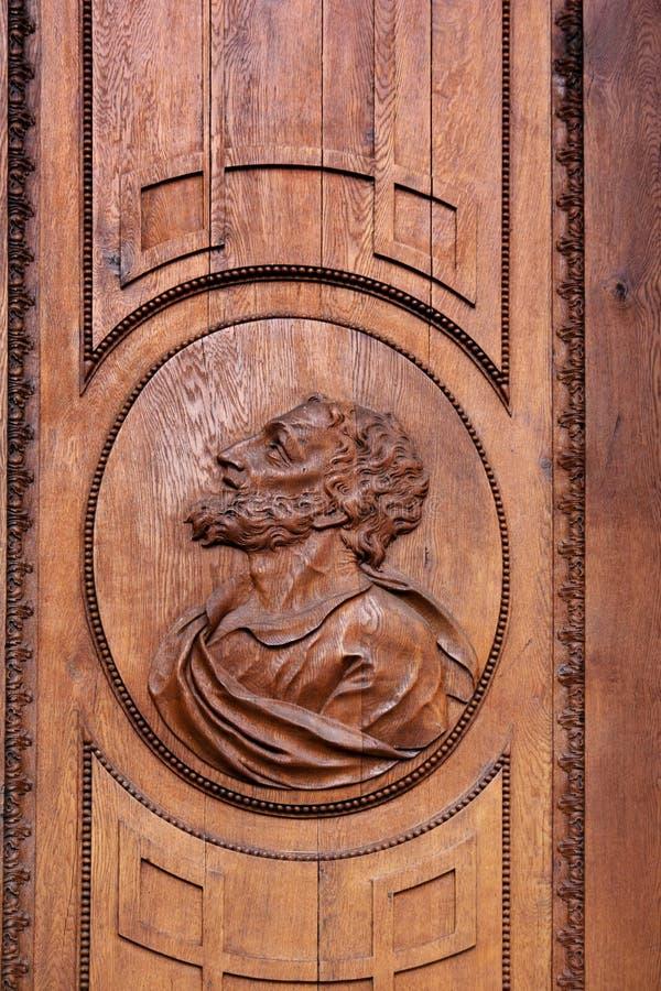 Retrato de José en puerta de entrada fotos de archivo