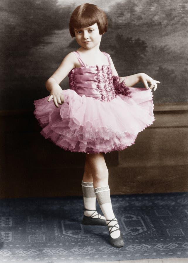 Retrato de la bailarina joven (todas las personas representadas no son vivas más largo y ningún estado existe Garantías del prove imagen de archivo
