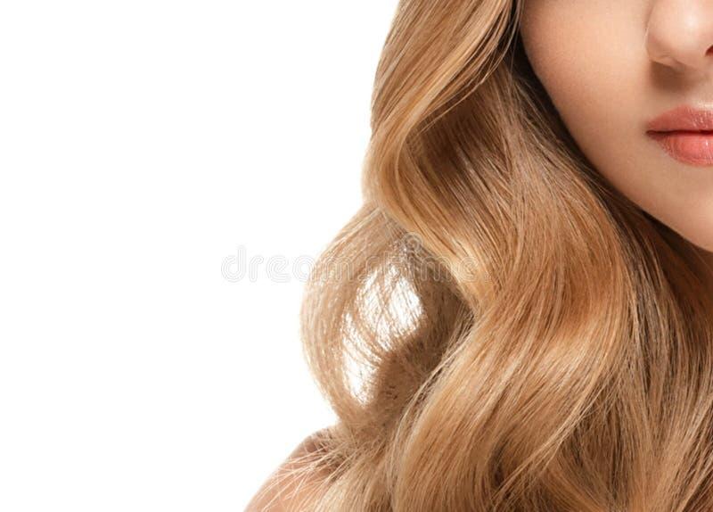 Retrato de la cara de la mujer de la belleza Muchacha hermosa del modelo del balneario con la piel limpia fresca perfecta imagen de archivo