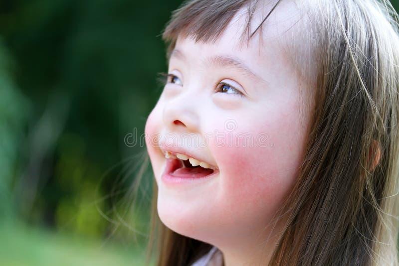 Retrato de la chica joven hermosa fotografía de archivo
