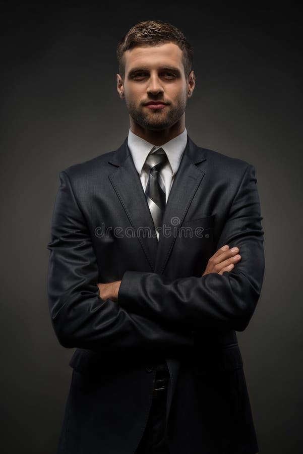 Download Retrato De La Cintura-para Arriba Del Hombre De Negocios Hermoso Con Foto de archivo - Imagen de businessman, caucásico: 44856532