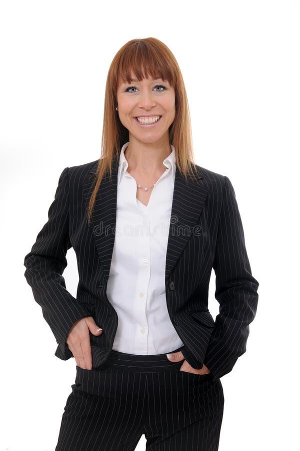 Retrato de la empresaria fotografía de archivo
