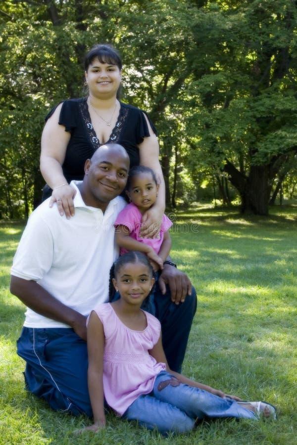 Retrato de la familia foto de archivo libre de regalías