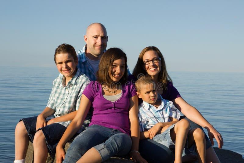 Retrato de la familia imagen de archivo libre de regalías