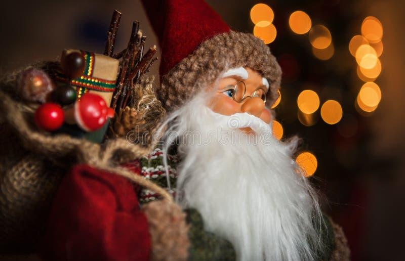 Retrato de la muñeca de Santa Claus imagen de archivo libre de regalías