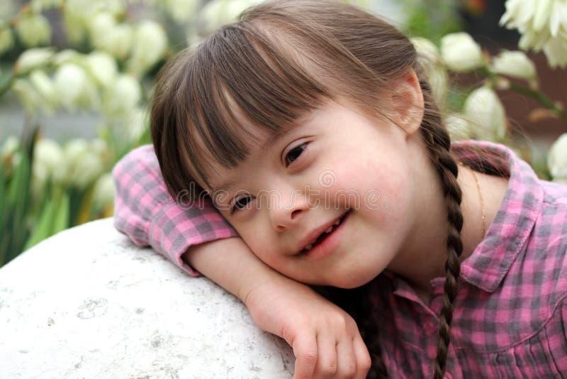Retrato de la muchacha imagen de archivo
