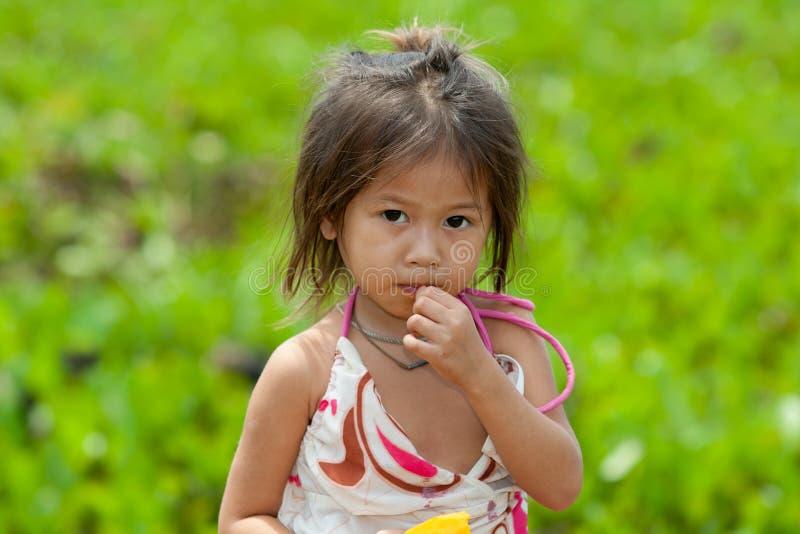 Retrato de la muchacha asiática fotografía de archivo libre de regalías