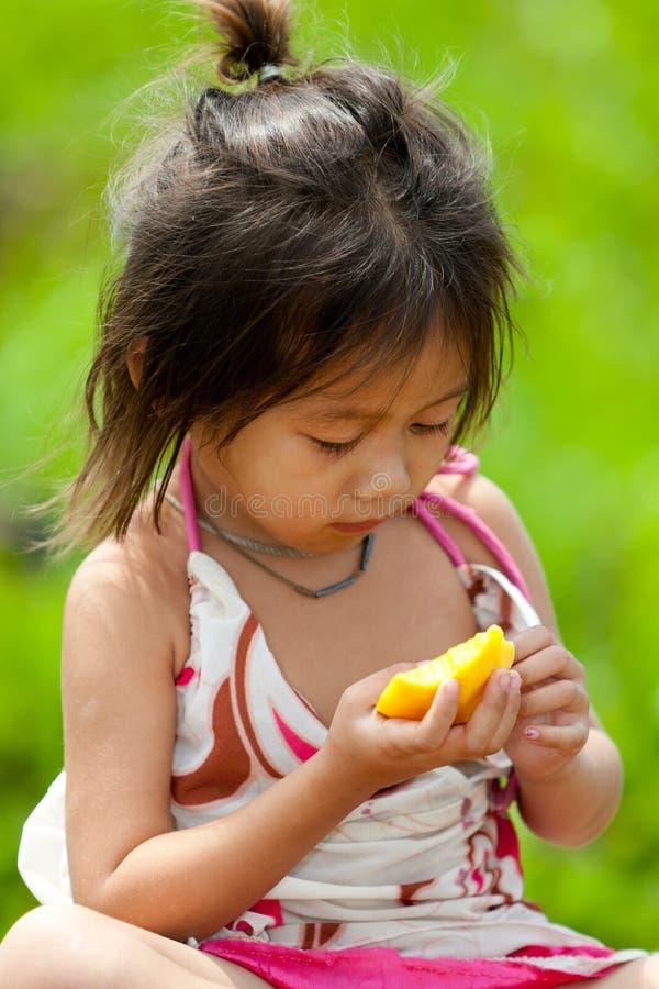 Retrato de la muchacha asiática imágenes de archivo libres de regalías