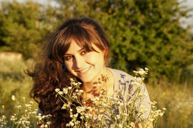 Retrato de la muchacha fresca foto de archivo