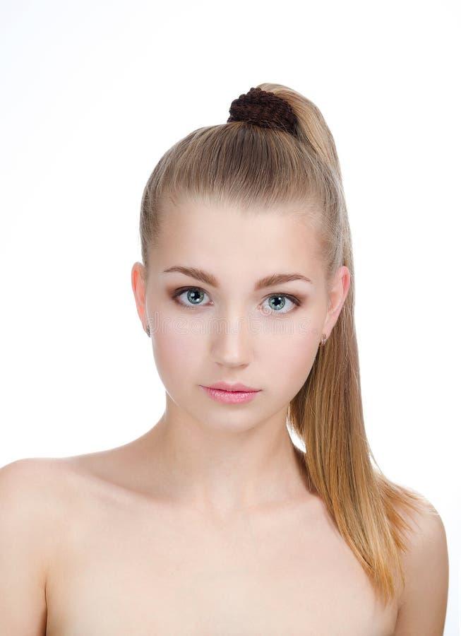 Retrato de la muchacha hermosa fotos de archivo