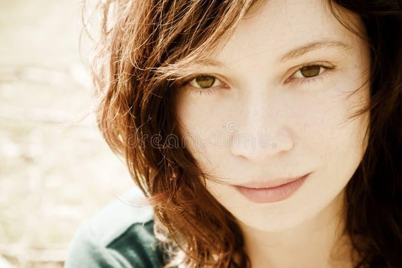 Retrato de la mujer foto de archivo libre de regalías