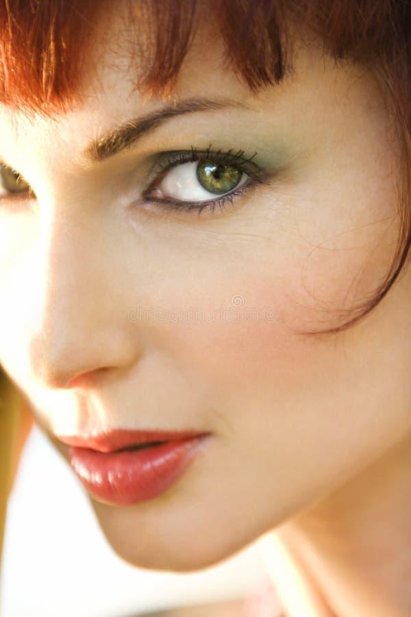 Retrato de la mujer. foto de archivo libre de regalías