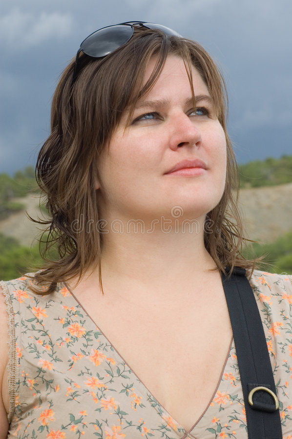 Download Retrato de la mujer foto de archivo. Imagen de outdoor - 7275364